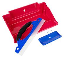 Mess Up Tray for Wet and Dry Messes