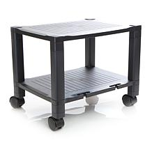 Mind Reader 2-Shelf Mobile Printer Cart