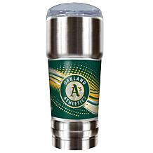 MLB 32 oz. Stainless Steel Pro Tumbler - A's