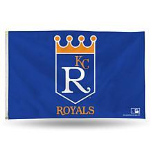 MLB Retro Banner Flag - Royals