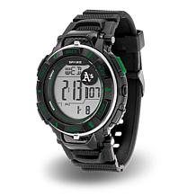 "MLB Team Logo ""Power"" Digital Sports Watch - Athletics"