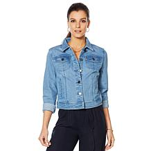 Motto Modern Stretch Denim Jacket