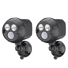 Mr. Beams NetBright Motion Activated 2-pack Spotlights