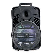 "Naxa Portable 12"" Bluetooth Party Speaker with Disco Light"