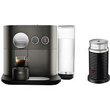 Nespresso Expert Anthracite Gray Espresso Machine with Milk Frother