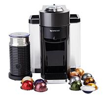 Nespresso Vertuo Coffee Maker with Milk Frother & Coffee Voucher
