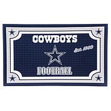 NFL Embossed Door Mat - Cowboys