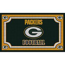 NFL Embossed Door Mat - Packers