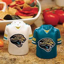 NFL Jersey Ceramic Salt and Pepper Shakers - Jaguars