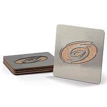 NHL Boasters 4-piece Coaster Set - Carolina Hurricanes
