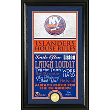 NHL House Rules Supreme Bronze Coin Photo Mint - New York Islanders
