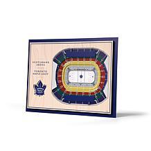 NHL Toronto Maple Leafs StadiumViews 3-D Wall Art - Scotiabank Arena