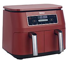Ninja Foodi 8-Quart 6-in-1 DualZone Air Fryer with Racks & Kebabs