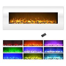 """Northwest 50"""" Wall Mounted Electric Fireplace w/Color Change LED Flame"""