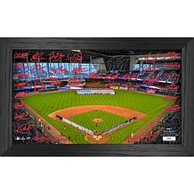 Officially Licensed MLB 2021 Signature Field Photo Frame - Miami