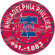 """Officially Licensed MLB 24"""" Established Date Sign - Phillies"""
