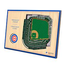 Officially-Licensed MLB 3-D StadiumViews Display - Chicago Cubs