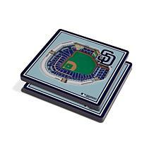 Officially Licensed MLB 3D StadiumViews Coaster Set - San Diego Padres