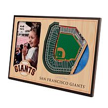 Officially Licensed MLB  3D StadiumViews Picture Frame - Giants
