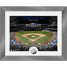 Officially Licensed MLB Art Deco Silver Coin Photo Mint - Toronto