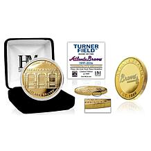 Officially Licensed MLB Stadium Gold Mint Coin