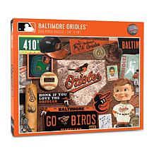 Officially Licensed MLB Baltimore Orioles Retro 500-Piece Puzzle