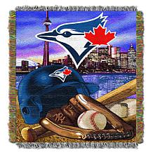 Officially Licensed MLB Blue Jays Home Field Advantage Tapestry Throw