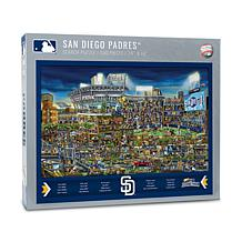 Officially Licensed MLB Joe Journeyman Puzzle - San Diego Padres