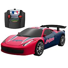 Officially Licensed MLB Remote Control Stadium Racer-Cleveland Indians