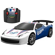 Officially Licensed MLB Remote Control Stadium Racer - LA. Dodgers