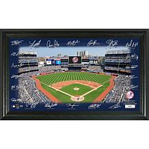 Officially Licensed MLB Signature Field Limited Edition Frame- Yank...