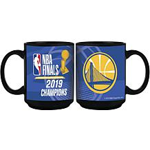 Officially Licensed NBA 2019 Champs 15 oz. Ceramic Mug - Black