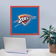 "Officially Licensed NBA 23"" Felt Wall Banner - Oklahoma City"