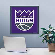 "Officially Licensed NBA 23"" Felt Wall Banner - Sacramento"