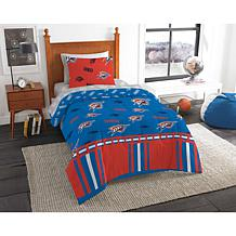 Officially Licensed NBA 808 Twin Bed In a Bag Set - OKC Thunder