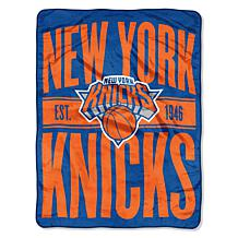 Officially Licensed NBA Clear Out Micro Raschel Throw Blanket - Kni...