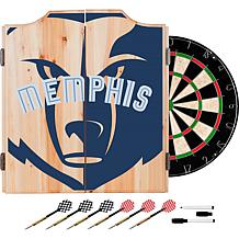 Officially Licensed NBA Dart Cabinet Set - Fade - Memphis Grizzlies