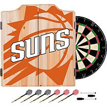 Officially Licensed NBA Dart Cabinet Set - Fade  - Phoenix Suns