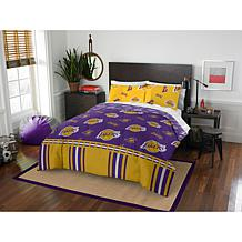 Officially Licensed NBA Full Bed in a Bag Set - LA Lakers