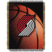 Officially Licensed NBA Photo Real Woven Tapestry Throw - Trailblaz...