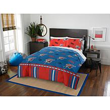 Officially Licensed NBA Queen Bed in a Bag Set - OKC Thunder
