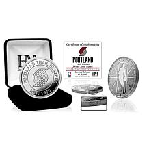 Officially Licensed NBA Silver Mint Coin - Portland Trail Blazers