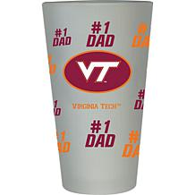 Officially Licensed NCAA 16 oz. Dad's Day Pint Glass - Virginia Tech