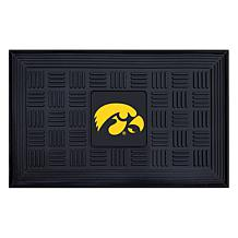 Officially Licensed NCAA University of Iowa Heavy Duty Door Mat