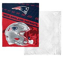 """Officially Licensed NFL 50"""" x 60"""" Soft Sherpa Throw"""