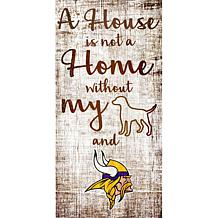 Officially Licensed NFL A House is Not a Home Sign