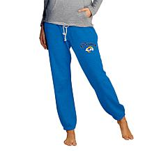 Officially Licensed NFL Concepts Sport Ladies' Knit Jogger Pant - Rams