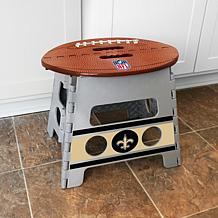 ... Officially Licensed NFL Folding Step Stool   New Orleans Saints
