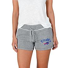 Officially Licensed NFL Mainstream Ladies Knit Short - Bills