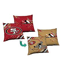 Officially Licensed NFL Reversible Cloud Pillow